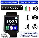 Prowatch ® – ORIGINALE IN ITALIANO – Smartwatch orologio touch intelligente U8 – Compatibile con Android e iPhone Ios 6 plus S, 6S, 6plus, 6, 5S, 5C, 5, 4S, 4, Android Samsung Galaxy 4, Note 3, Note 2, S5, S4, S3, HTC, BlackBerry, LG, Sony, Huawei thumbnail