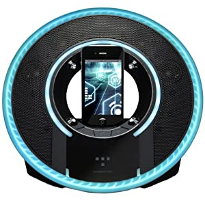 Monster Light Disc Tron Edition 30-Pin iPod/iPhone Speaker Dock
