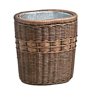 Share facebook twitter pinterest qty 1 2 3 4 5 6 - Wicker trash basket ...