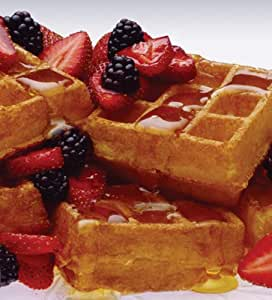 how to make pancakes with belgian waffle mix