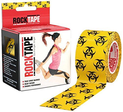 Rocktape Kinesiology Tape For Athletes - 2 Inch X 16.4 Feet (Biohazard)