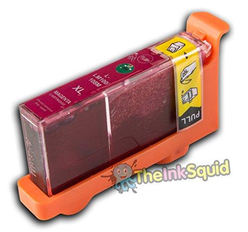 1 Lexmark L-100/L-108 XL Magenta/Rot (passt auch für L105/LM105) kompatible Tintenpatrone für Lexmark Pinnacle PRO 901 Drucker von 'The Ink Squid' - 1 x L-100/L-108 XL Magenta/Rot (19ml)