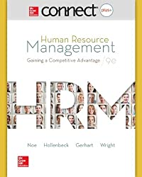 Connect Plus Human Resource Management with LearnSmart 1 Semester Access Card for Human Resource Management download ebook