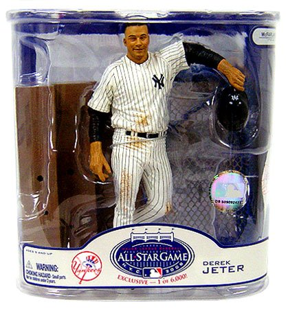 McFarlane MLB 2008 ASG Fan Fest Exclusive Derek Jeter New York Yankees Action Figure