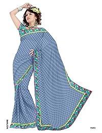Vatsal Silk Mills Printed Saree With Border
