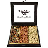 Chocholik Dryfruits Gift Box - Special Combo Of Baklava, Rocks & Almonds Gifts Box - Diwali Gifts