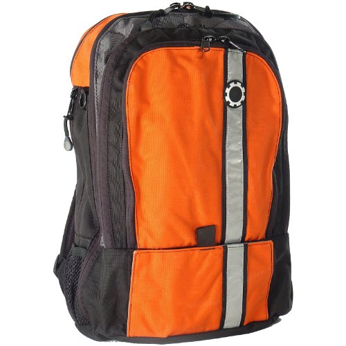 dadgear backpack diaper bag retro orange nappy bag nappy bags designer. Black Bedroom Furniture Sets. Home Design Ideas