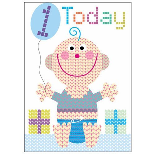 Free Baby Boy Cards front-814522