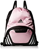 adidas Team Speed II Sackpack, Gala Pink, 19 x 14.75 x 2-Inch