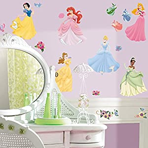 roommates disney princesses wall stickers amazon co uk baby amazon com butterfly flower wall decal sticker removable