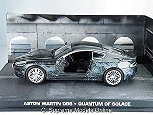 Aston Martin Dbs James Bond Car Quantum Of Solace 1/43 Battle Example T3412Z