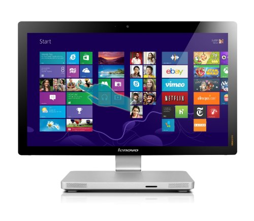 Lenovo Ideacentre A 520 Series 23-Inch All-In-One Extreme 960 Gb Ssd 16Gb Ram (Intel Core I7 Extreme I7-3920Xm Processor - 2.90Ghz With Turbo Boost To 3.80Ghz, 16 Gb Ram, 960Gb Ssd Drive, Full Hd 1080P 1920X1080 Ips Led Backlit 10-Finger Multi-Touchscreen