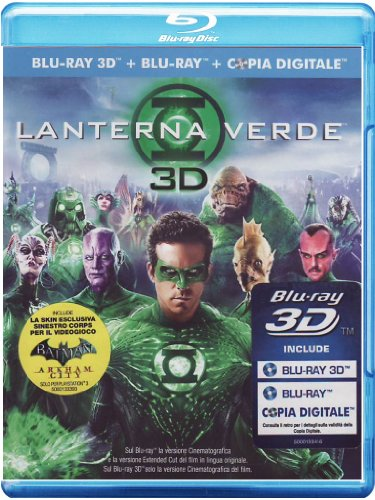 Lanterna verde(2D+3D+copia digitale) [Blu-ray] [IT Import]