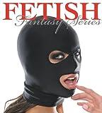 目と口の開いたフェイスマスク ストレッチの効いたライクラ素材