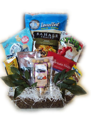 Snack Daddy Healthy Father's Day Gift Basket