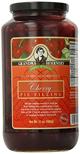 Grandma Hoerner's Pie Filling, Cherry, 32.0 Ounce
