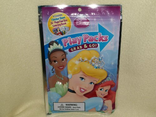 Disney Princess Play Packs Grab & Go - 1