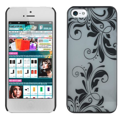 Special Sale KATINKAS 2108053788 Hard Cover for iPhone 5 - Orchid - 1 Pack - Retail Packaging - White