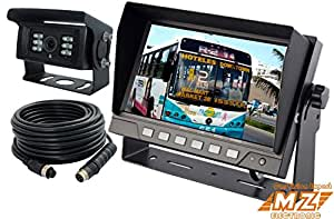 Amazon Com 7 Quot Digital Wired Rear View Backup Reverse