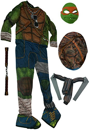 Rubies Michelangelo Teenage Ninja Turtle Costume w/ NunChucks [888975+NE24]