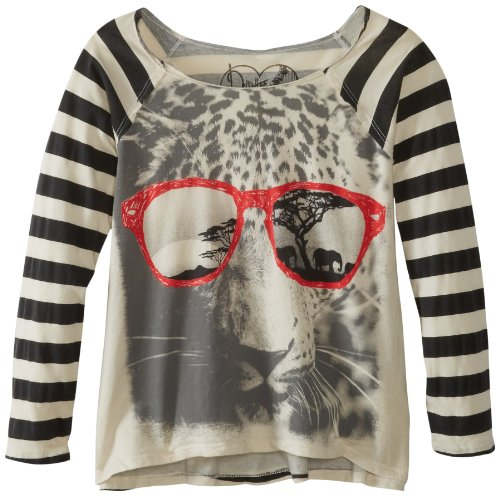 Dirtee Hollywood Girls 7-16 Cool Leopard