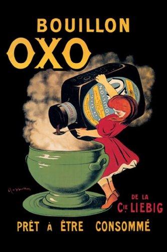 Bouillon Oxo - Pr, 12X18 Poster, Heavy Stock Semi-Gloss Paper Print