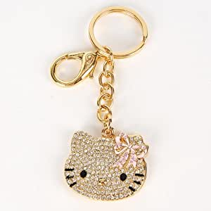 Hello Kitty Schlüsselanhänger Spiegel Anhänger