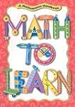 Math to Learn: A Mathematics Handbook