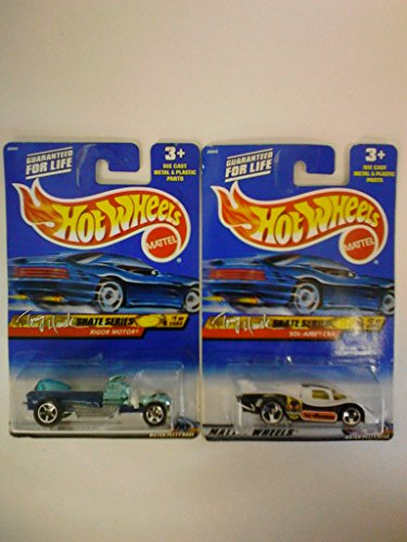 Hot Wheels 2000 Tony Hawk Skate Series #'s 1 & 2 (Out of 4)