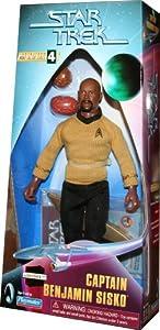 CAPTAIN BENJAMIN SISKO Star Trek: Deep Space Nine * 9 INCH * Warp Factor Series 4 Fully Articulated Action Figure