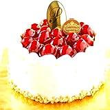 最高級洋菓子 シュス木いちごレアチーズケーキ 12cm プレートなし