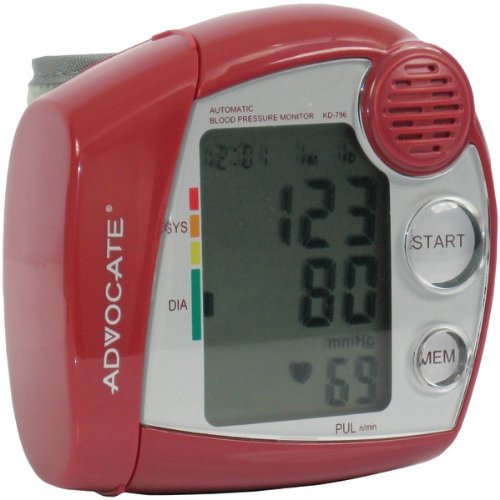 Image of ADVOCATE KD-7960 SPEAKING WRIST BLOOD PRESSURE MONITOR (B00A9XDWW6)