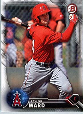 2016 Bowman Prospects #BP80 Taylor Ward Los Angeles Angels Baseball Card