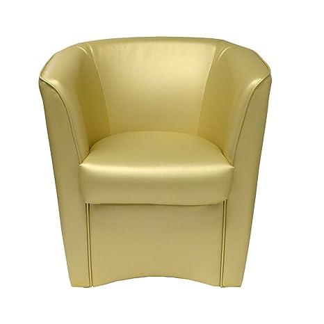 Sessel Gold aus Kunstleder fur Kuche Esszimmer Buro Schlafzimmer Kinderzimmer