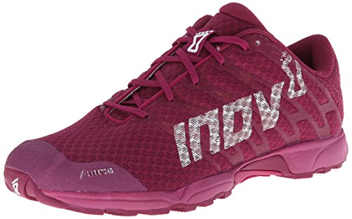 Inov-8 Women's F-Lite 240 (P) Cross-Training Shoe,Grape/Berry,8.5 M US
