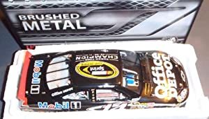 2011 Tony Stewart #14 Office Depot Champion 1:24 Action Brushed Metal by Action