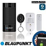 Blaupunkt Smart Home Security Visual Monitoring Set - Alarmanlage Funk IP Sicherheitssystem mit Smartphone App, schwarz, Q3200