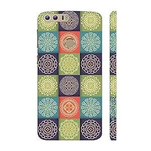 Enthopia Designer Hardshell Case Elegant Pattern Back Cover for Huawei Honor 8