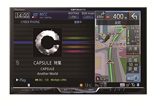 Pioneer 8V型ワイドVGA地上デジタルTV/DVD-V/CD/Bluetooth/USB/SD/チューナー・5.1ch対応・DSP AV一体型HDDナビ AVIC-ZH0999L