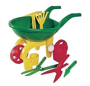 Androni wheelbarrow and gardening tools set 9 for Gardening tools amazon
