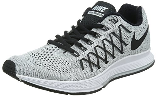 Amazon.com: Nike Men's Air Zoom Pegasus 32 Pure Platinum/Black ...
