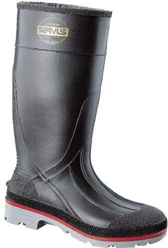 Honeywell Safety 75108-11 Servus XTP Chemical Resistant Men's Hi Boot, Size-11, Black/Red/Grey