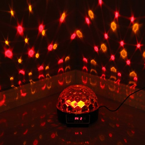 3Colors Led Crystal Magic Ball Effect Light Disco Dj Stage Party Hs