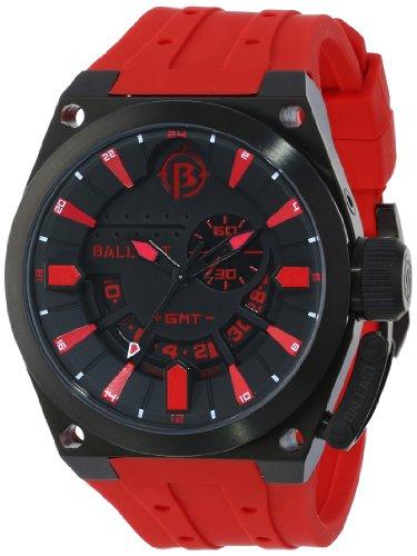 Ballast Men's BL-3108-0C Valiant Analog Display Swiss Quartz Red Watch