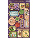 Graphic 45 Nutcracker Sweet Chipboard Die-Cut 1