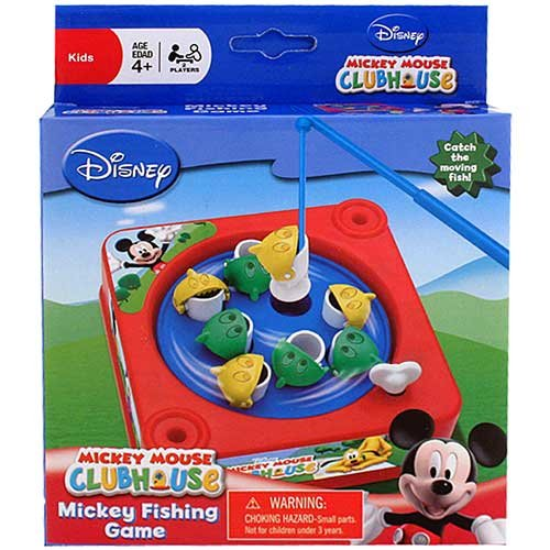 Disney Mickey Mouse Clubhouse Fishing Game 2-Player - 1