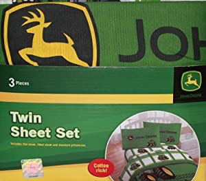 john deere parure de lit motif tracteurs deere pour lit double cuisine maison. Black Bedroom Furniture Sets. Home Design Ideas
