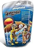 Playmobil - 5462 - Figurine - Dragon De Pierre Avec Guerrier