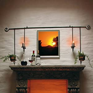 wandkerzenhalter garten. Black Bedroom Furniture Sets. Home Design Ideas