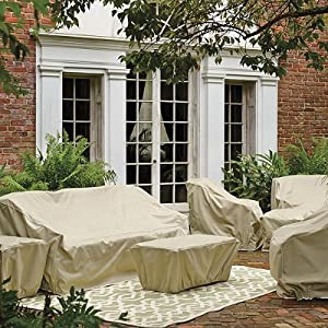 Frontgate Furniture Collection Covers - Melrose, Outdoor Ottoman - Frontgate from Frontgate